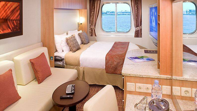 海景房舱房礼遇 Ocean View Stateroom Services