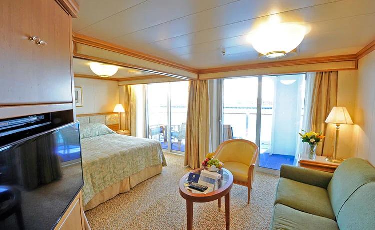 景观套房舱