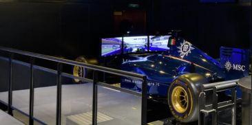 F1模拟赛车
