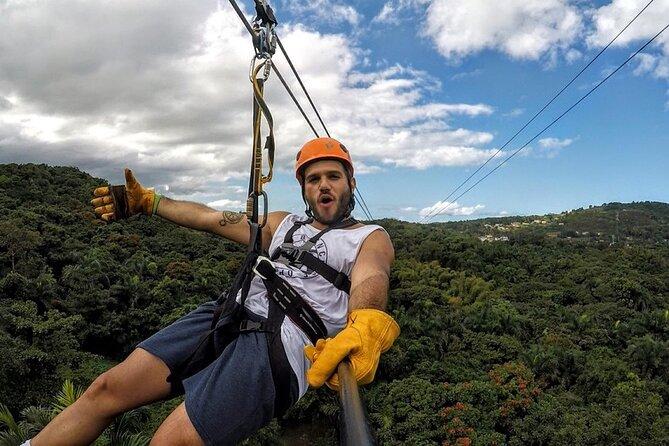 Zipline Canopy Adventure Tour from San Juan