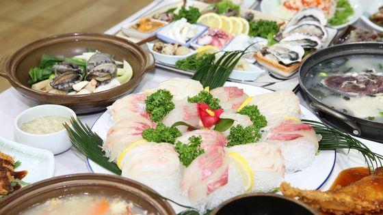제주 바다의향기 식사권