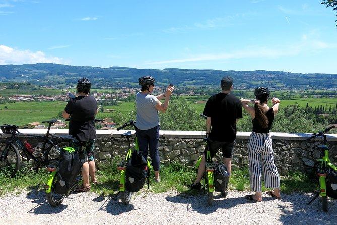 Verona and the countryside, by e-bike