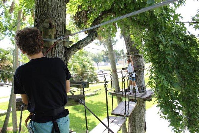 Zipline Adventure through Tuscawilla Park