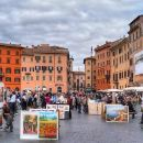 Rome Streets: Walking Tour in the Day with No Museums
