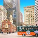 Boston Hop-On Hop-Off Trolley Tour with 18 Stops