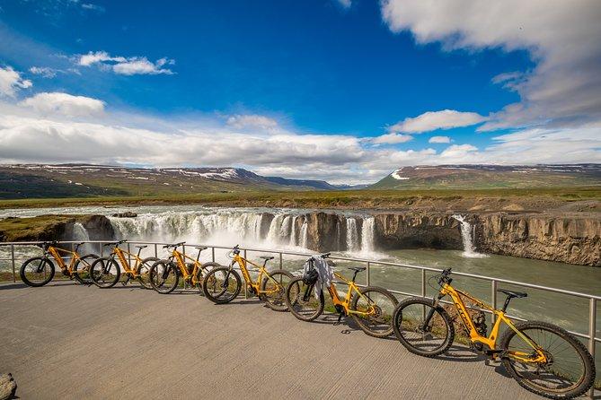 E-Bike tour to Goðafoss