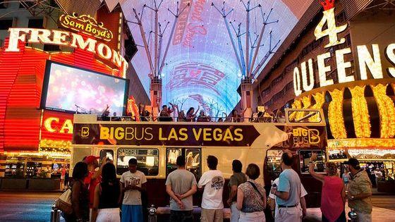 Big Bus Las Vegas Night Tour