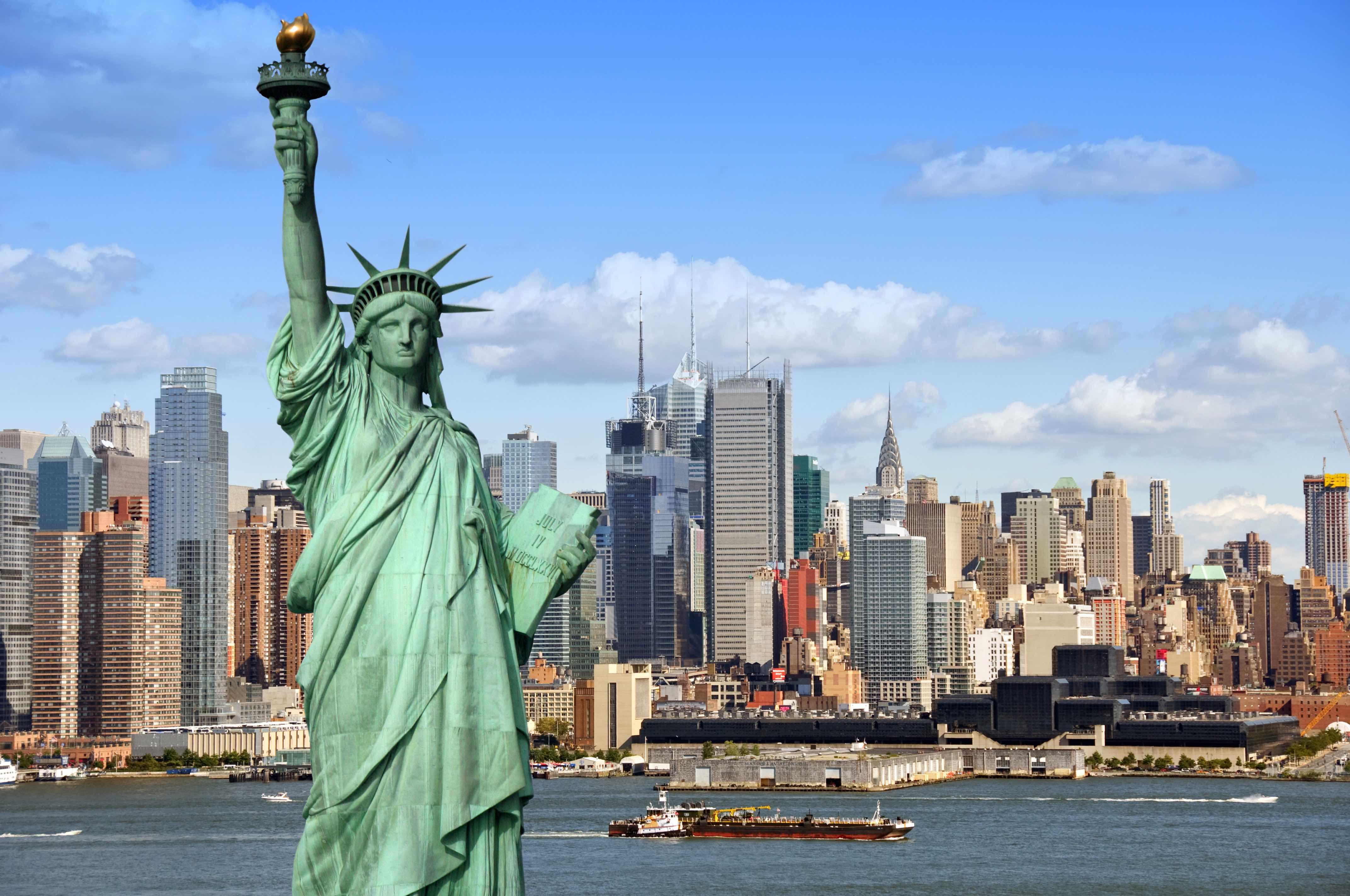 【티켓】 뉴욕 자유의 여신상, 엘리스 섬 유람선 (엘리스 섬 이민 박물관 입장권, 오디오 가이드 포함)