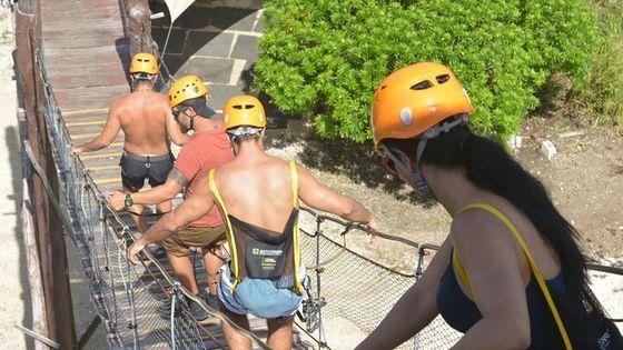 Playa del Carmen Jungle Tour: Tulum, Cenote Snorkeling, 4x4 Ride and Ziplining