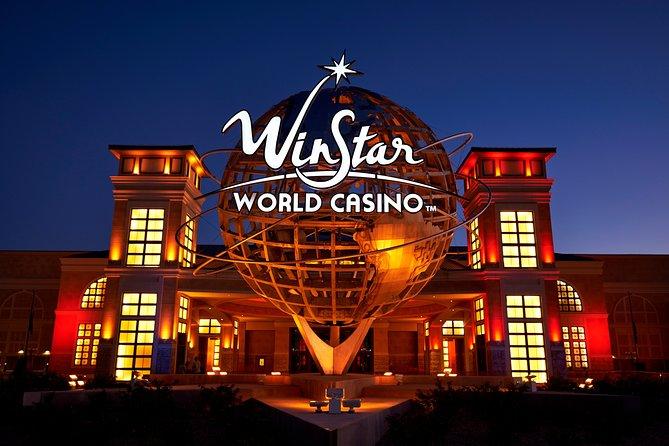 5 Hour Small Group Tour to World's Biggest Casino - Winstar World Casino