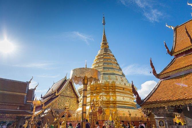 ドーイステープなどの寺院とチェンマイ市内を巡る半日ツアー
