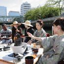 Tea Ceremony Experience on a Boat including a Kaiseki Cuisine Bento