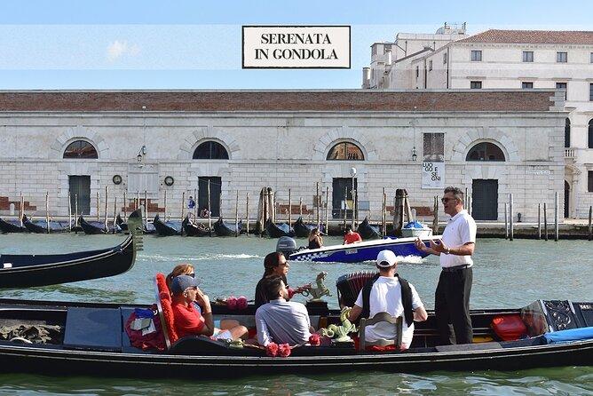 Venice Gondola: Romantic Serenade on Canal Grande