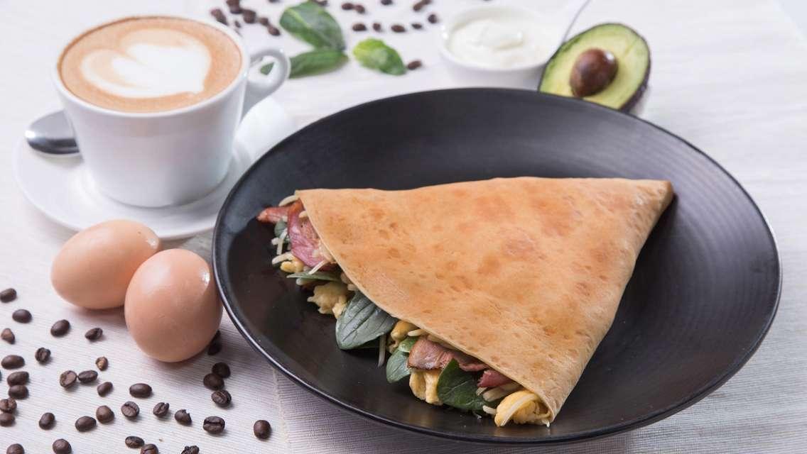 K11 Art Mall - Café Crêpe 法式薄餅早晨優惠套餐 (低至57折)