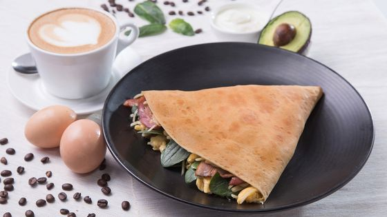 Up to 43% Off | K11 Art Mall Café Crêpe - Crepe and Free Latte Breakfast Set Meal Voucher