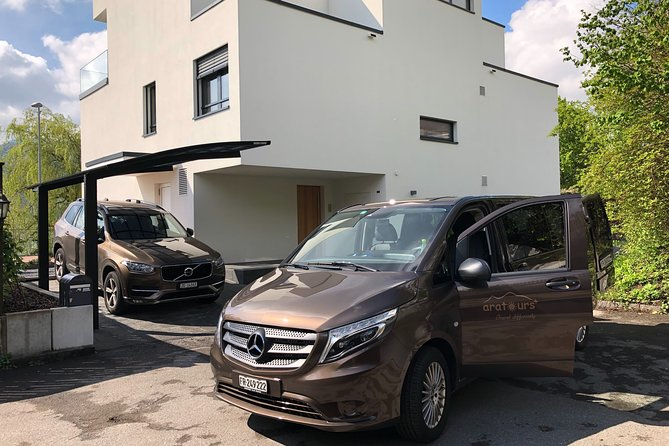Private Arrival Transfer: from Zurich Airport to Bern City