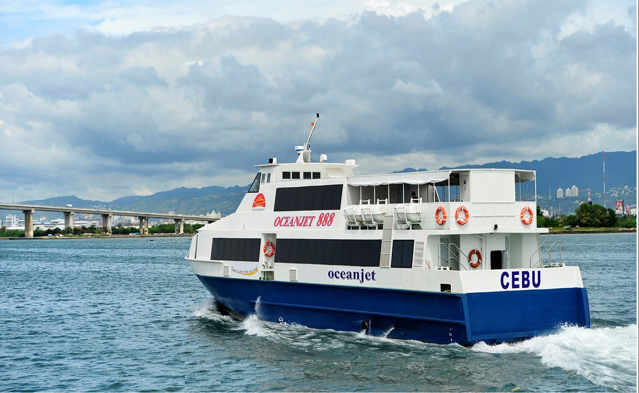 One Way Tourist/Business Class Ferry Tickets from Tagbilaran Bohol to Dumaguete and Vice Versa