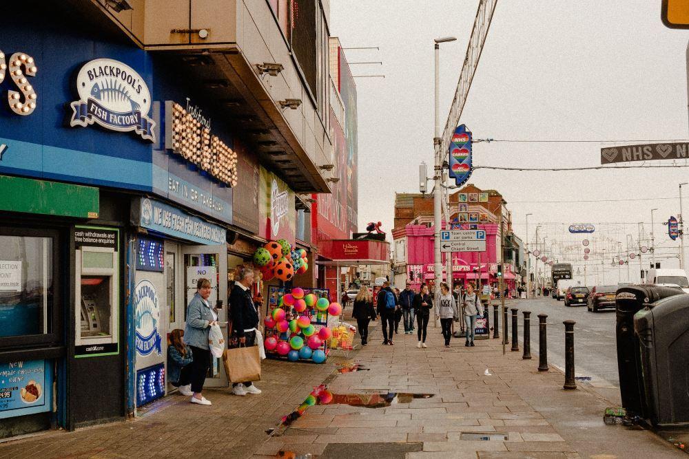 Take the Train to the Beautiful Blackpool
