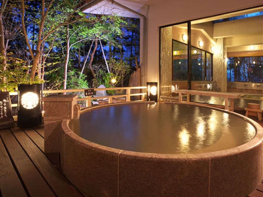 伊香保温泉のおすすめ露天風呂付宿 如心の里 ひびき野