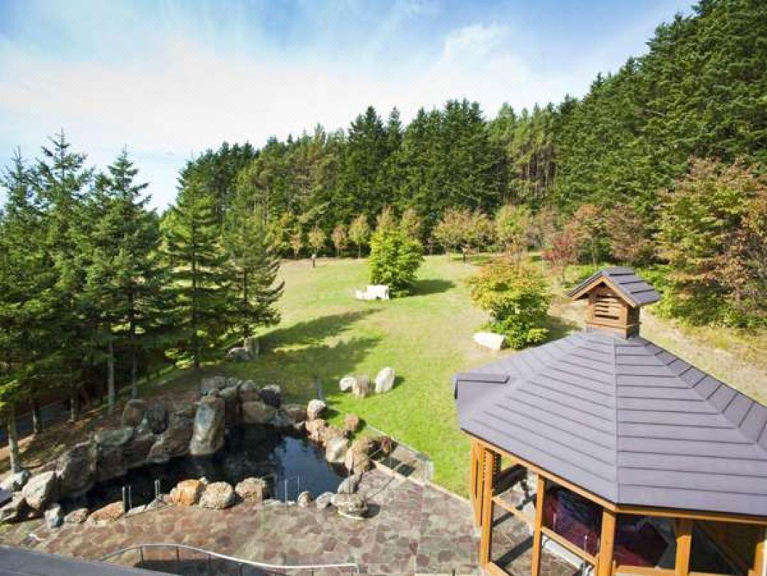 滝の上公園(千鳥ヶ滝)近くの温泉