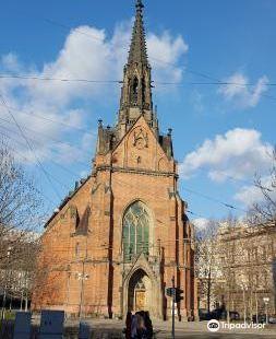 Kostel Jana Amose Komenskeho - Cerveny Kostel