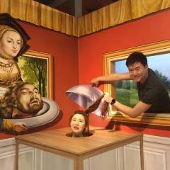 트릭아이 박물관 싱가포르 여행 사진