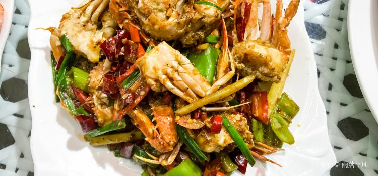 海鮮中心海岸海景餐廳|椰子雞(亞龍灣店)1
