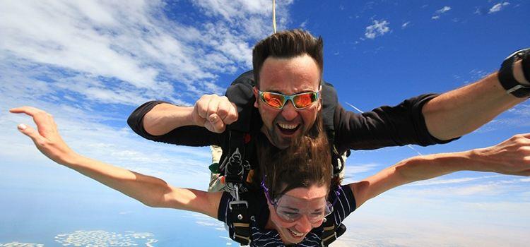 두바이 스카이다이빙 체험1