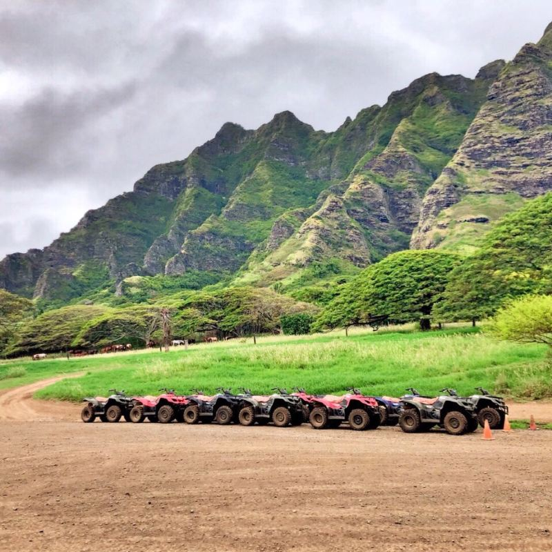 Kualoa Ranch | Tickets, Deals, Reviews, Family Holidays - Trip.com on h-1 freeway map, valley of the temples map, bellows air force station map, halona blowhole map, old pali road map, oahu map, kaaawa valley map, waimea valley map, kona airport map, honolulu map, kailua map, iolani palace map, oregon convention center map, polynesian cultural center map, parker ranch map, kingdom of hawaii map, chinaman's hat map, niihau map, hawaii convention center map,