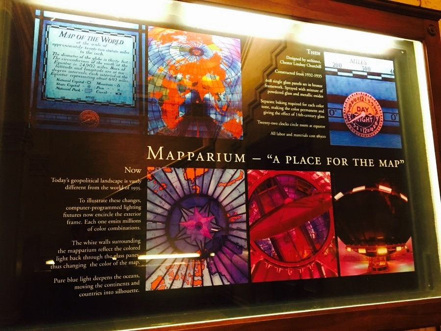 The Mapparium travel guidebook –must visit attractions in