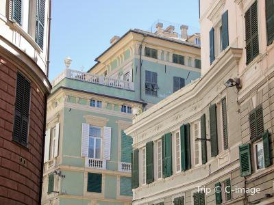 新街和羅利宮殿體系