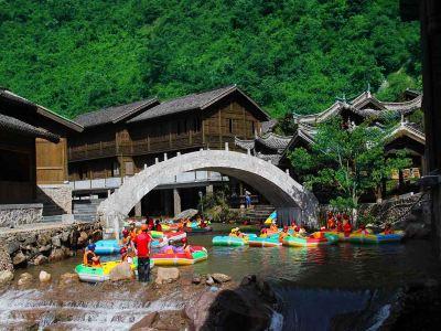 Dajue Mountain Rafting