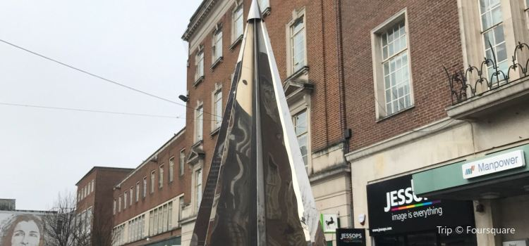 Exeter Riddle Sculpture