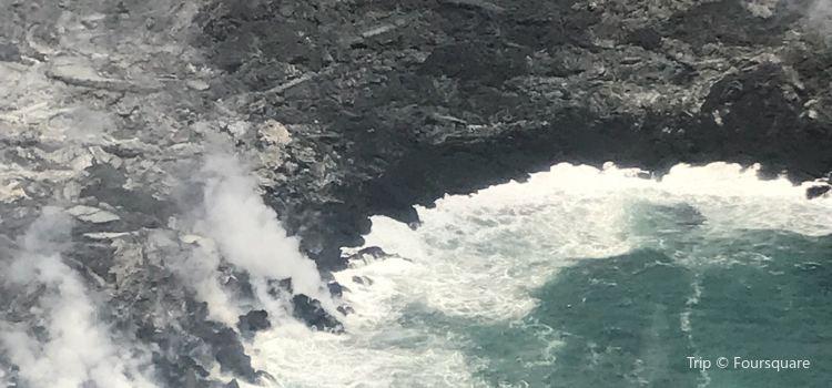 藍色夏威夷直升飛機