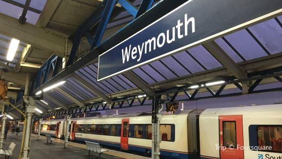 Weymouth, Railway Station (SW-bound)