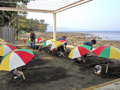 Beppu Beach Sandbath