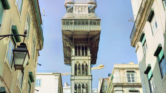 산타 주스타 엘리베이터