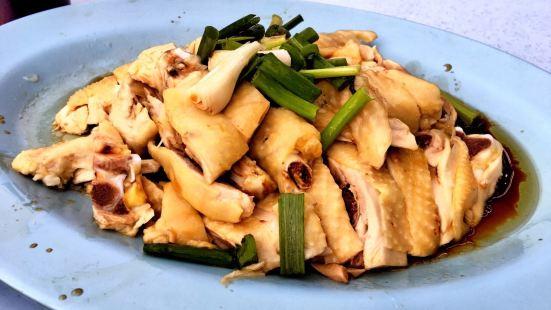 老黃芽菜雞沙河粉