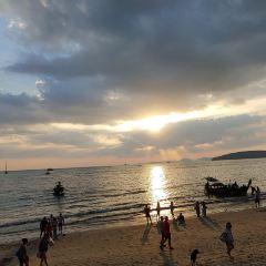 아오낭 해변 여행 사진