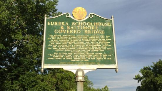 Eureka Schoolhouse and Baltimore Covered Bridge
