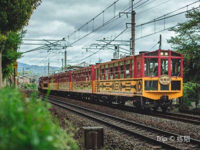 사가노 토롯코 열차