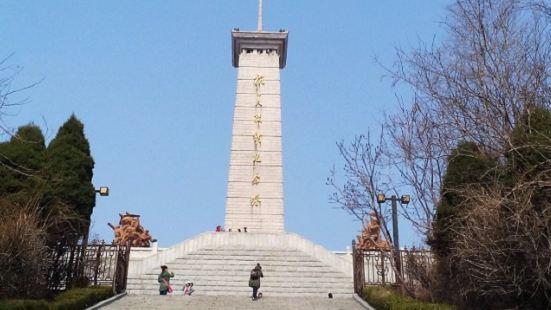 抗美援朝紀念館紀念塔展區