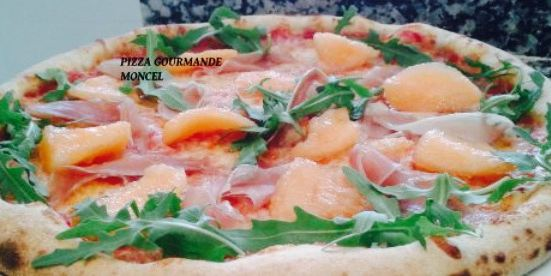Pizza gourmande