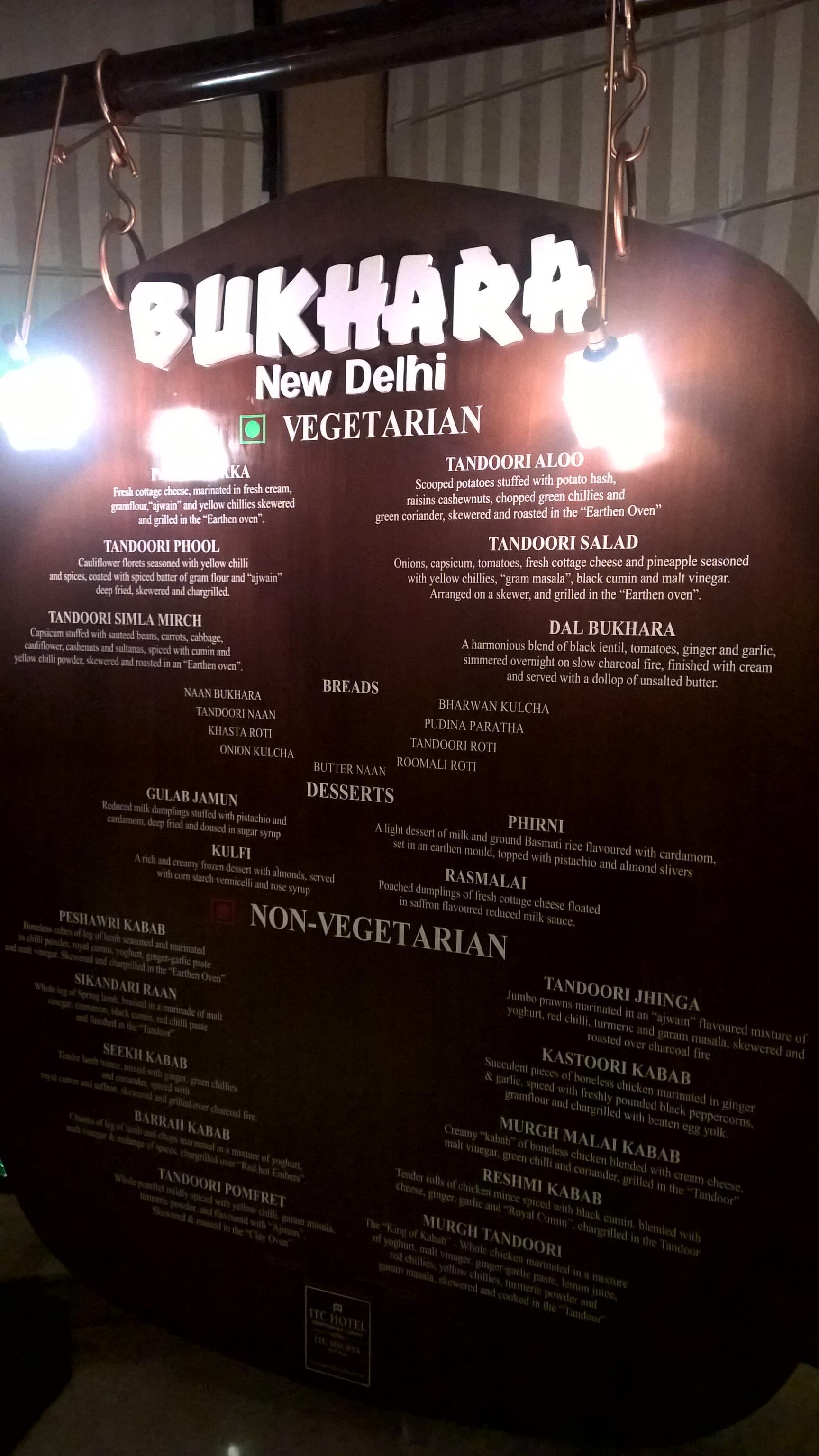 Bukhara Reviews: Food & Drinks in Delhi New Delhi– Trip com