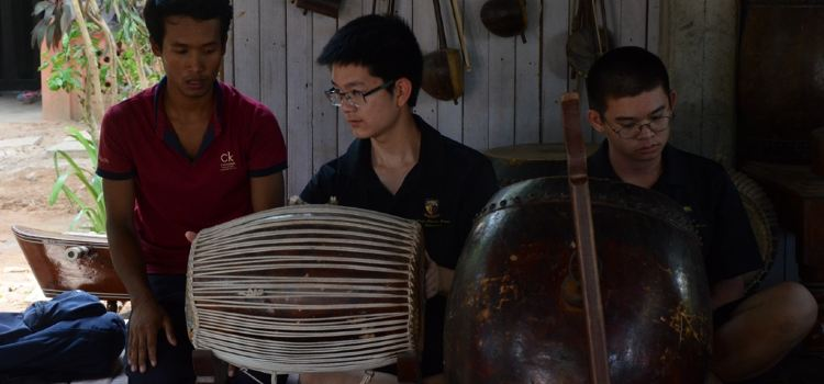 Treang Village傳統樂器學習體驗1