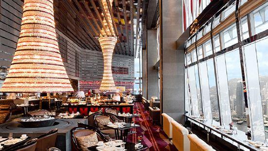 香港麗思卡爾頓酒店大堂酒廊