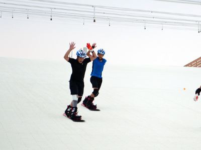 신두젠펑 인공 사계절 스키장