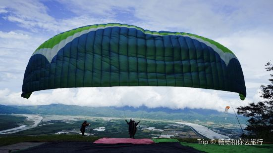 花蓮飛行傘體驗