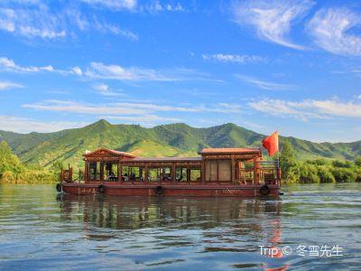 丹東鴨綠江遊船