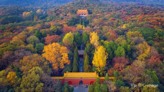 Ming Xiaoling Mausoleum
